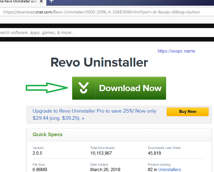 Revo Uninstaller : tutoriel complet, image 2