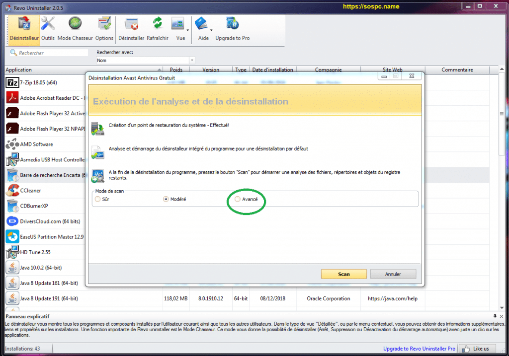 Revo Uninstaller : tutoriel complet, image 21