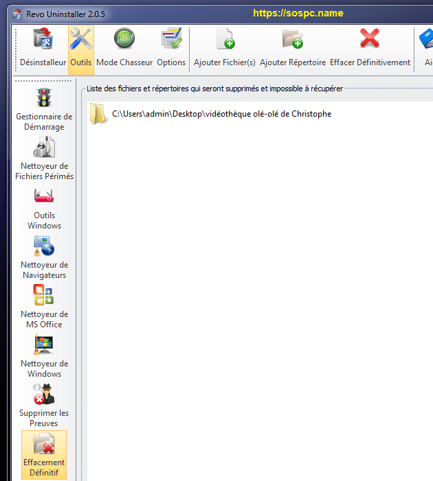 Revo Uninstaller : tutoriel complet, image 49