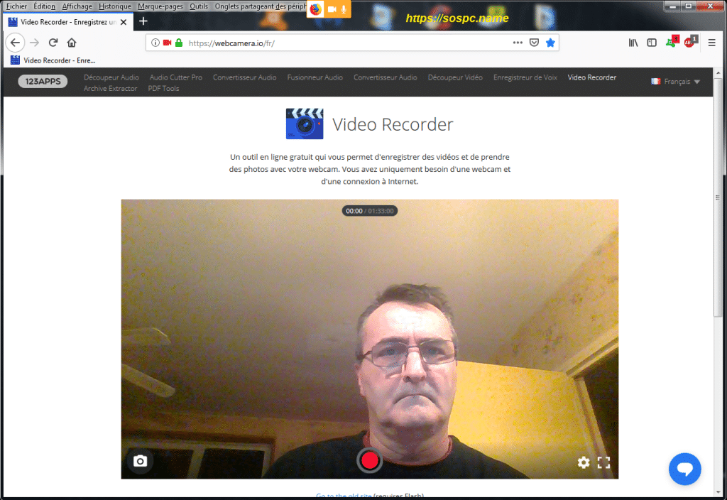 Se filmer avec sa webcam avec Video Recorder, image 2