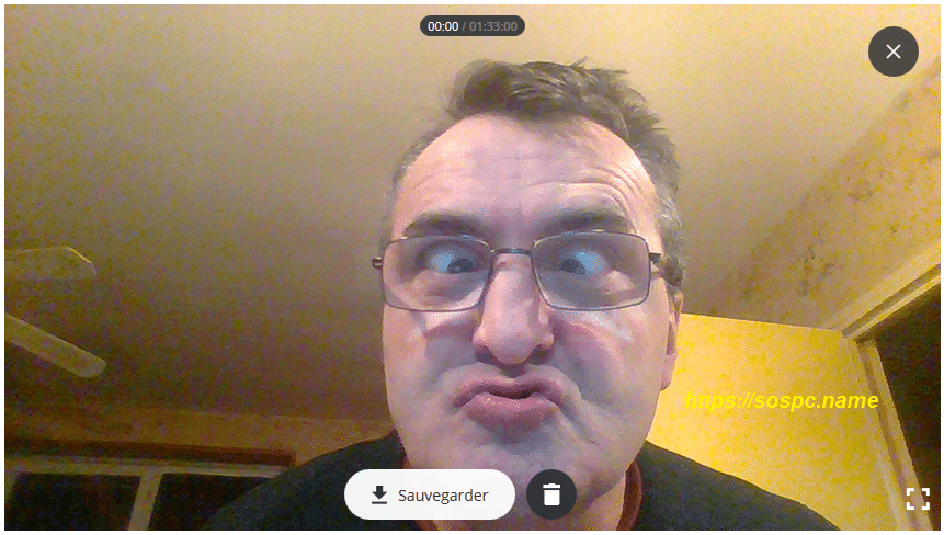 Se filmer avec sa webcam avec Video Recorder, image 4