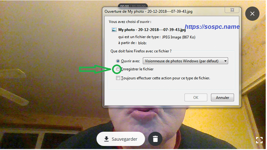 Se filmer avec sa webcam avec Video Recorder, image 5