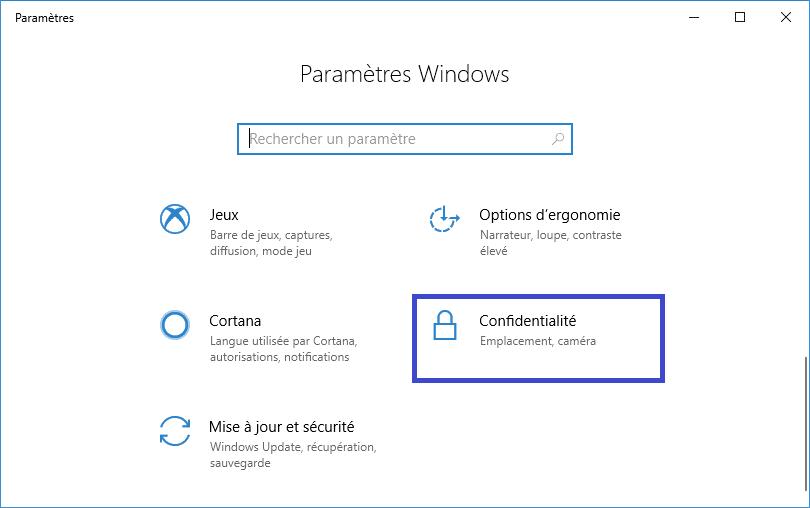Windows 10 : bloquer la transmission de vos données image 1