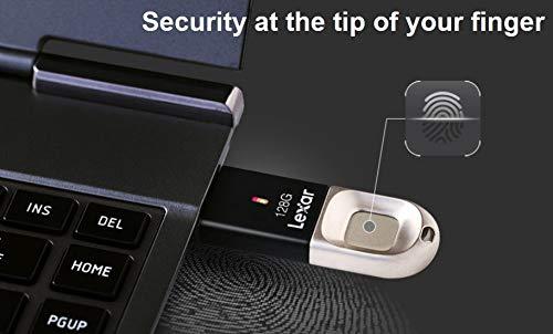 Clé USB Lexar protégée par un lecteur d'empreinte f35