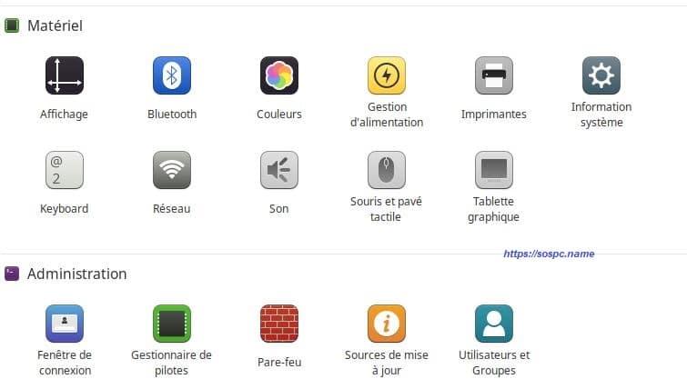 À la découverte du menu Linux Mint image 12