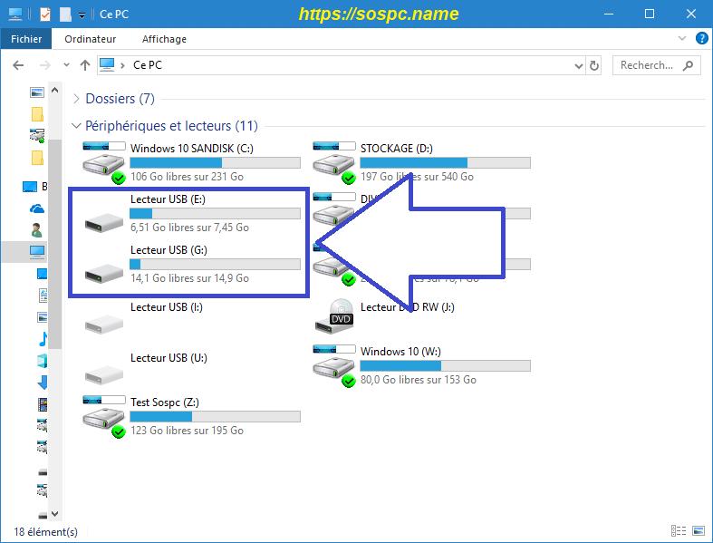 Adaptateur USB Lecteur de Carte SD / Micro SD image 4