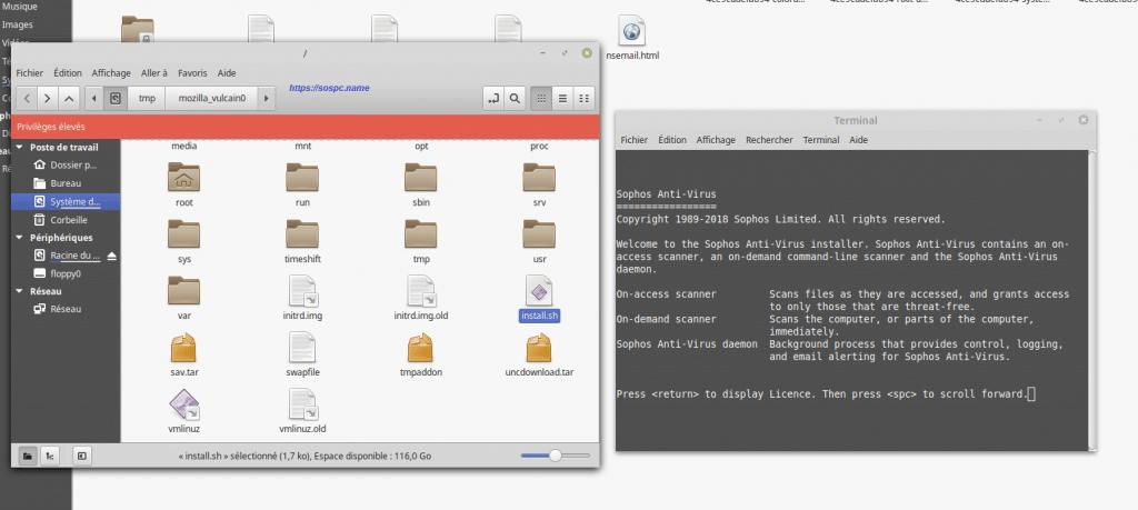 Antivirus pour Windows et Linux, l'inégalité de l'installation entre OS IMAGE 11