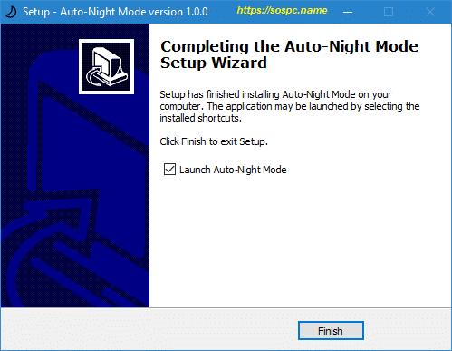 activer automatiquement le thème sombre sous Windows 10 1809 image 5
