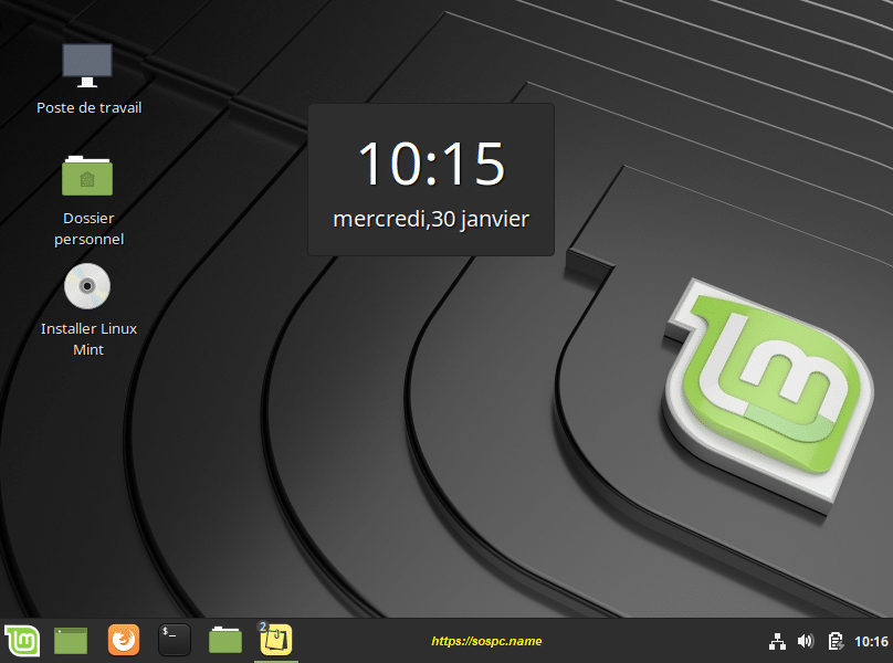 L'outil Desklets de Linux Mint image 6