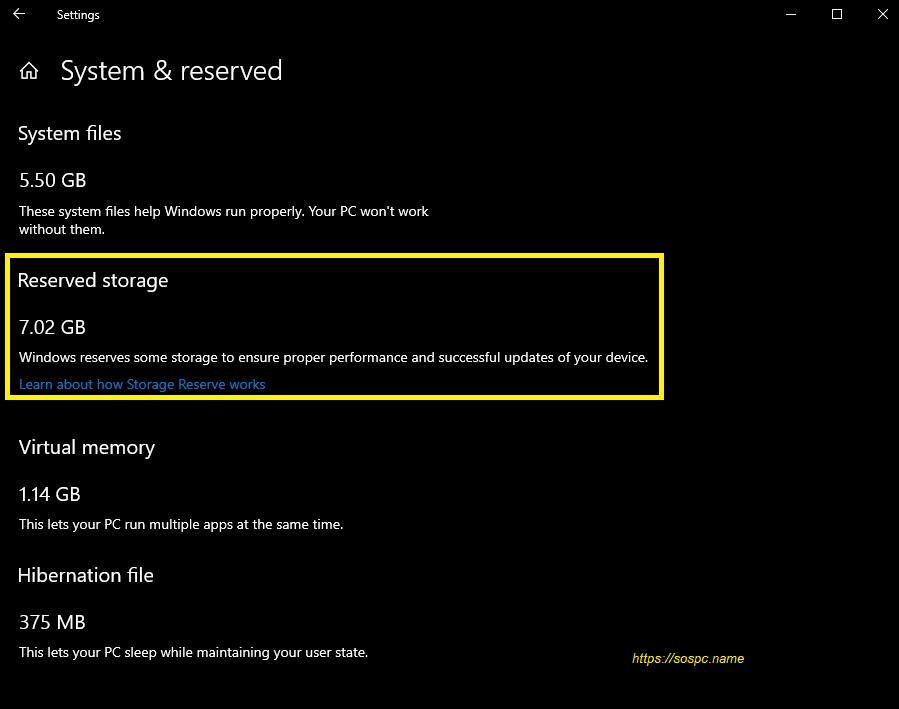 La prochaine version de Windows 10 va bloquer 7 Go d'espace pour les mises à jour.