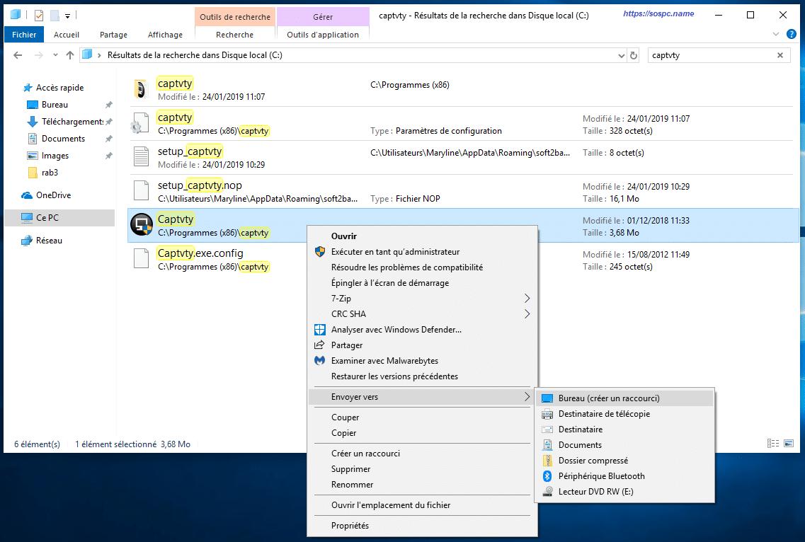 Les raccourcis sous Windows 10 tutoriel détaillé image 22