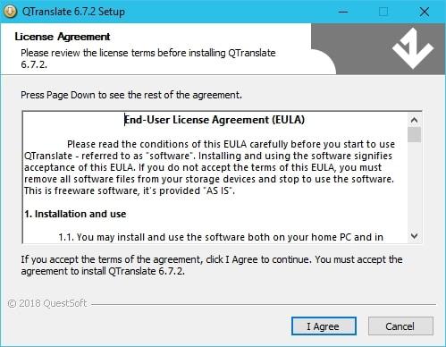 QTranslate une application qui propose pas moins de 10 traducteurs