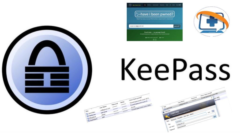 Vérifiez tous les mots de passe KeePass dans la base d'Haveibeenpwned.com, par Ginbi2.