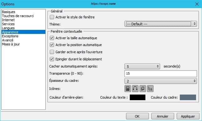 QTranslate une application qui propose 10 traducteurs. Tutoriel sur Sospc.name