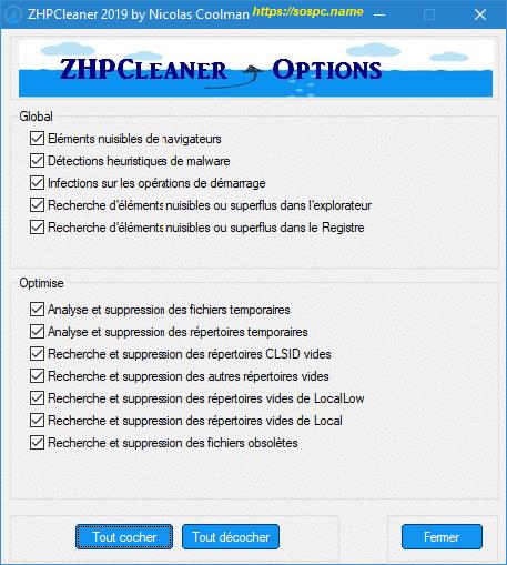 ZHPCleaner 2019 un nettoyeur incontournable IMAGE 13