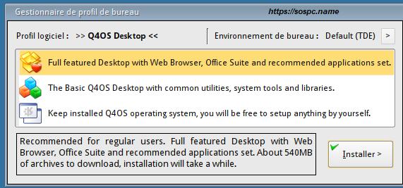 Q4OS : une distribution légère Linux image 18