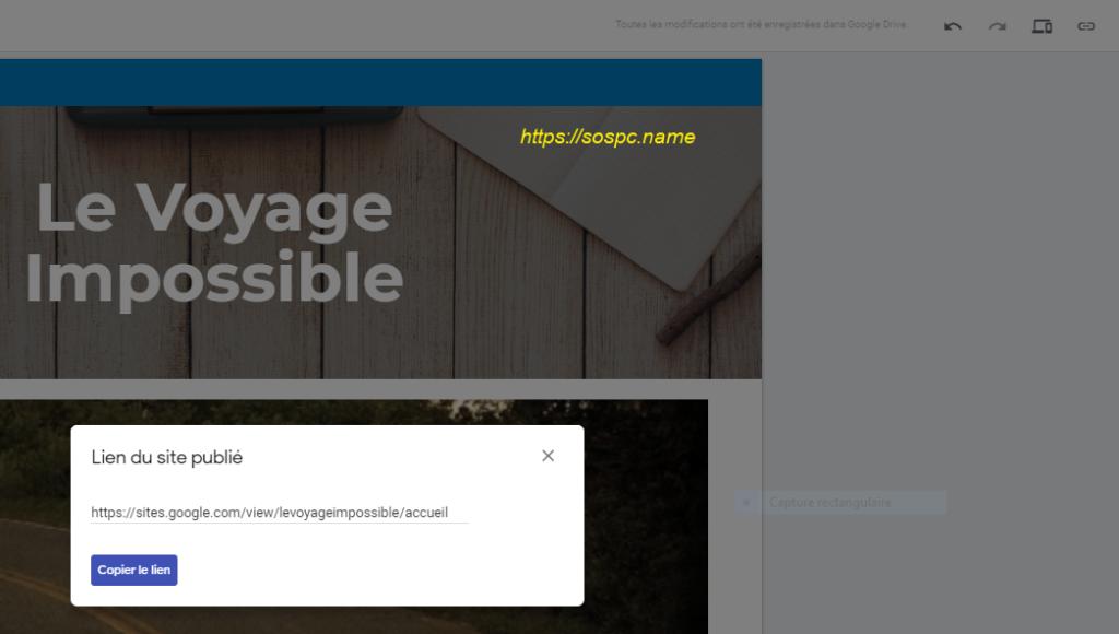 Créer un petit site perso en quelques minutes image 11