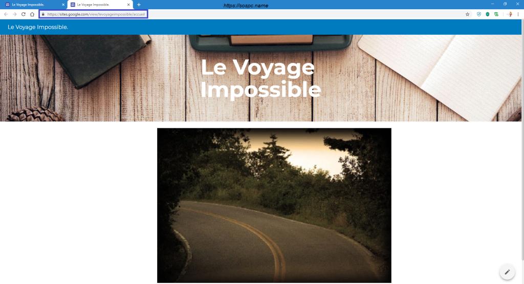 Créer un petit site perso en quelques minutes image 12