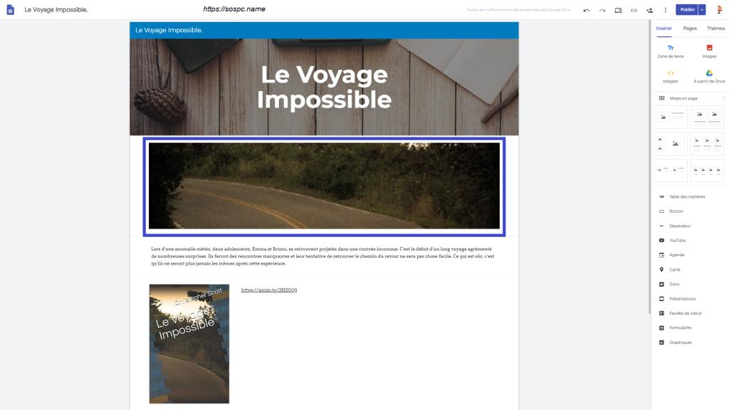 Créer un petit site perso en quelques minutes image 13
