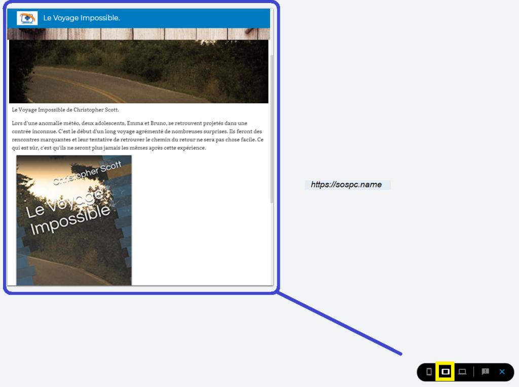 Créer un petit site perso en quelques minutes image 16