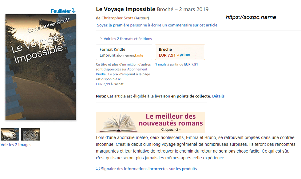 Le Voyage Impossible. Christopher Scott.