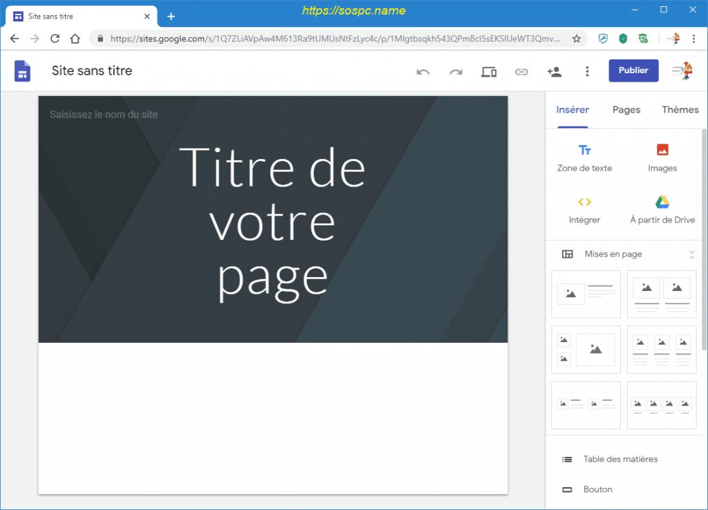 Créer un petit site perso en quelques minutes image 3