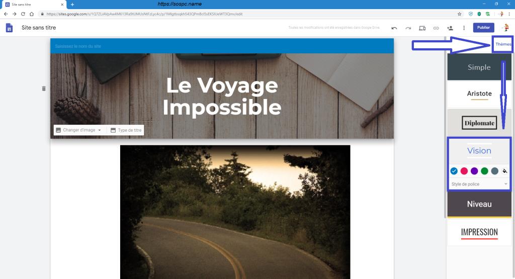 Créer un petit site perso en quelques minutes image 6