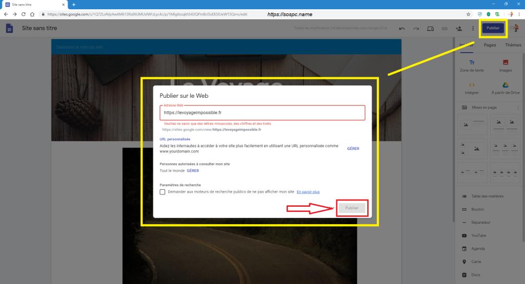 Créer un petit site perso en quelques minutes image 7
