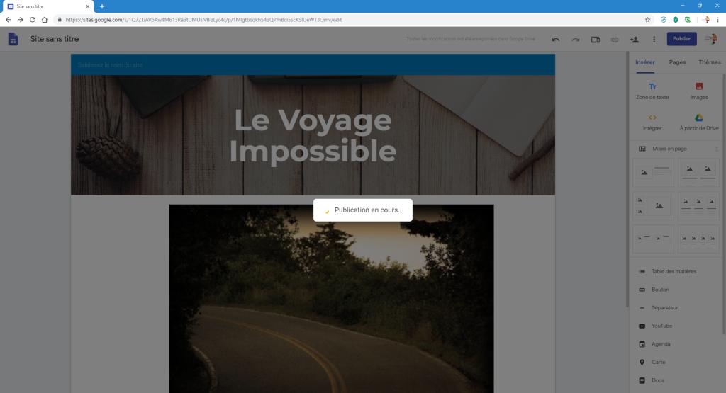 Créer un petit site perso en quelques minutes image 9