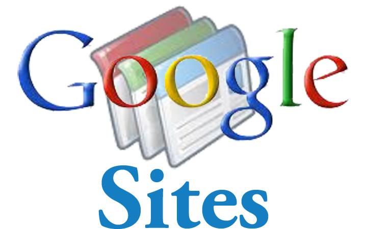 Créer un petit site perso en quelques minutes avec Google Sites.