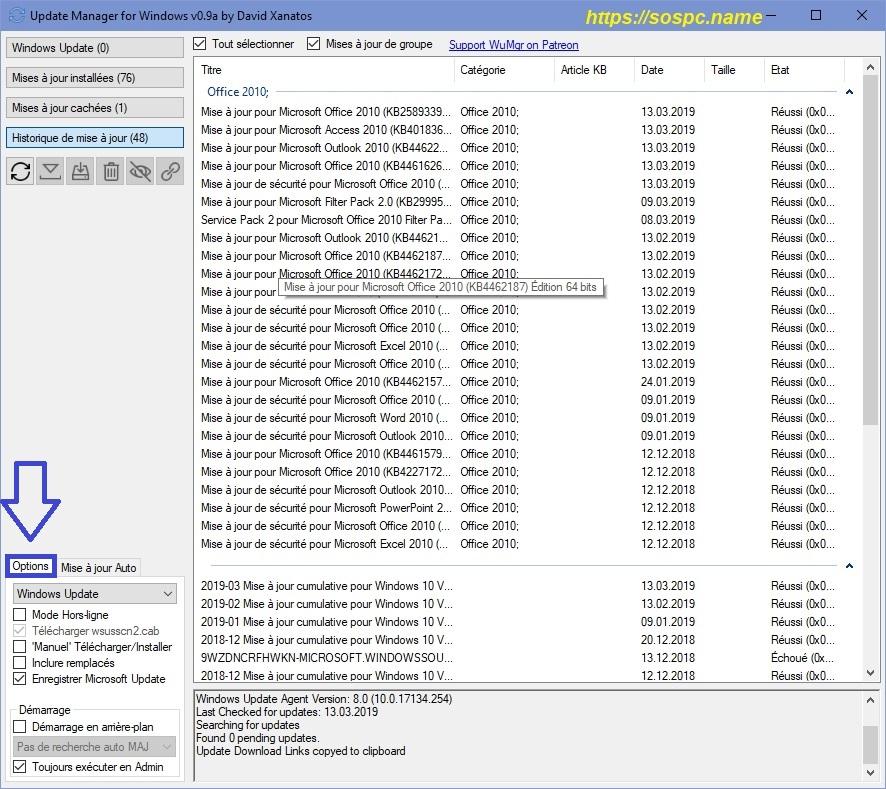 gérer les mises à jour de Windows 10 image 9
