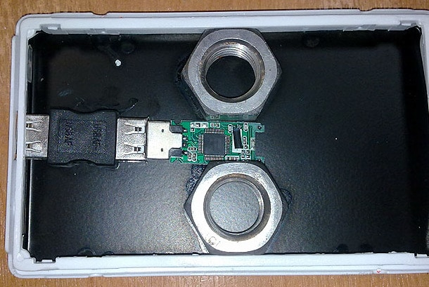 Après les Clés USB truquées, les Disques Durs...