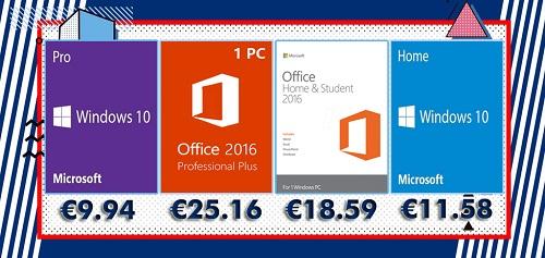 Bons Plans : Licences Windows, Office, Jeux et Antivirus à prix cassés !