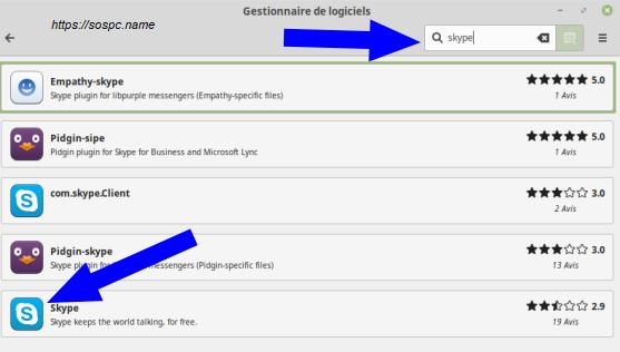 Linux Mintinstallation pas à pas d'un logiciel image 2