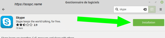 Linux Mintinstallation pas à pas d'un logiciel image 3