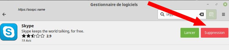 Linux Mintinstallation pas à pas d'un logiciel image 6