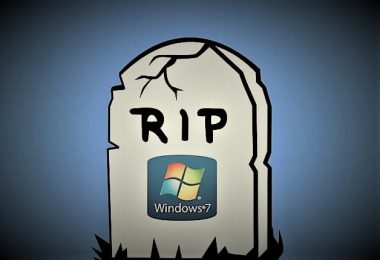 Le support de Windows 7 touche à sa fin après 10 ans, par Azamos.