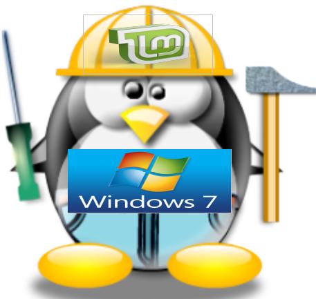 Le thème Windows 7sous Linux Mint