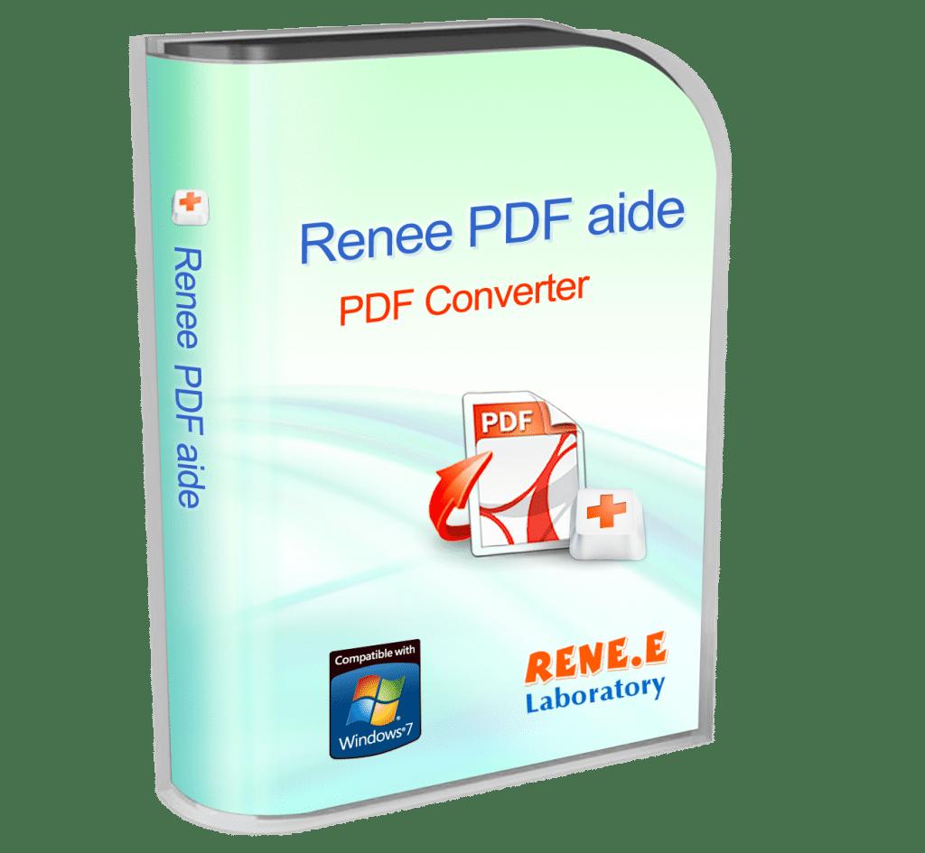 Renee PDF Aide : convertissez vos PDF en Word, Excel, PowerPoint, EPUB, HTML, TXT ou Image.