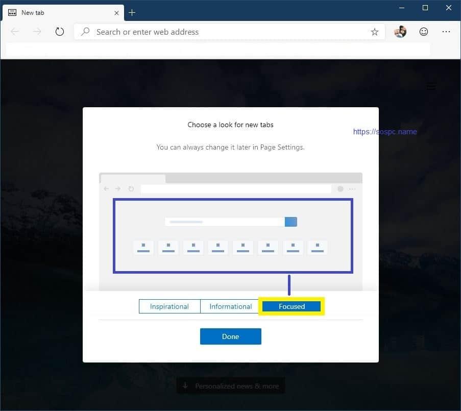 tester nouveau navigateur Edge version bêta