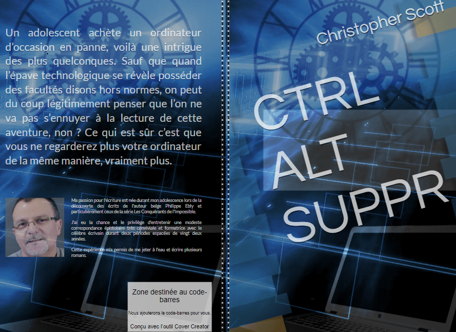 LIVRE CTRL ALT SUPPR CHRISTOPHER SCOTT