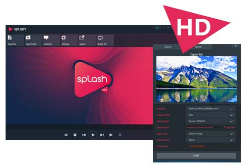 Logiciel en bref : Splash 2.0, un excellent lecteur vidéo.