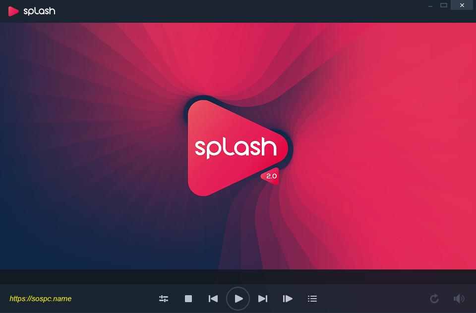 Splash 2.0, un excellent lecteur vidéo.