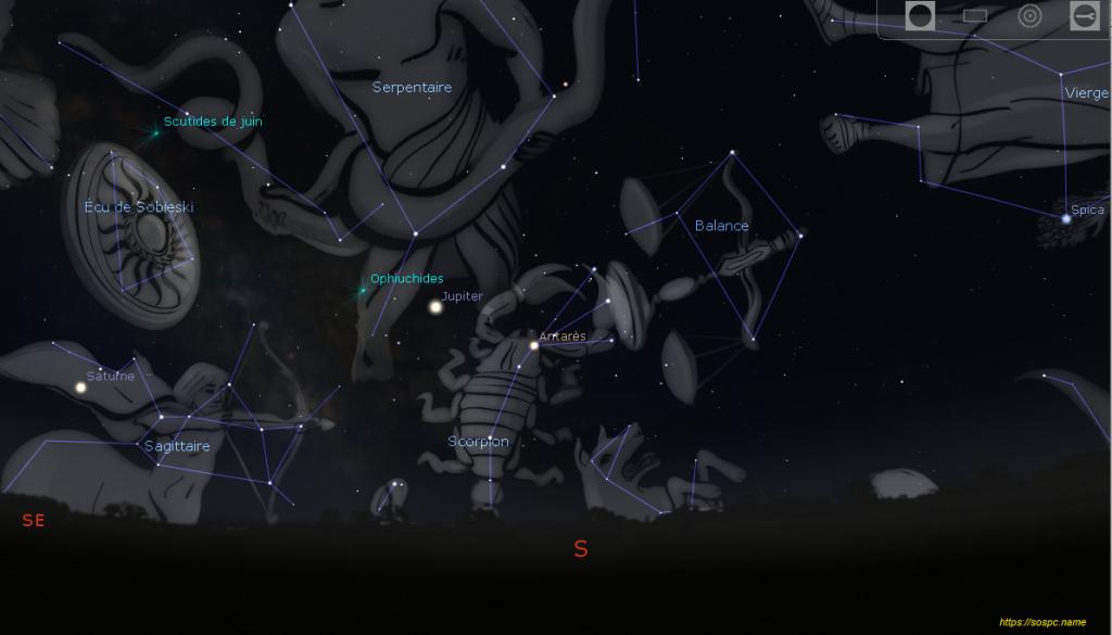 Stellarium tutoriel
