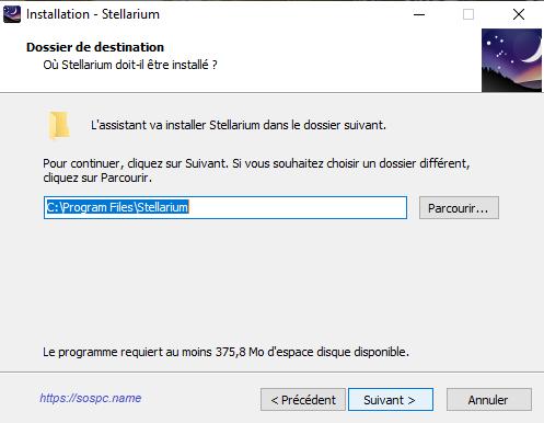 Stellarium le logiciel Planétarium gratuit qui affiche un ciel réaliste en 3D