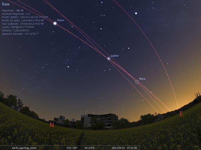Stellarium : le logiciel Planétarium gratuit qui affiche un ciel réaliste en 3D,