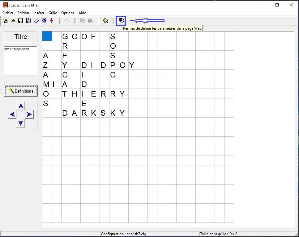 Comment créer votre propre grille de mots croisés.