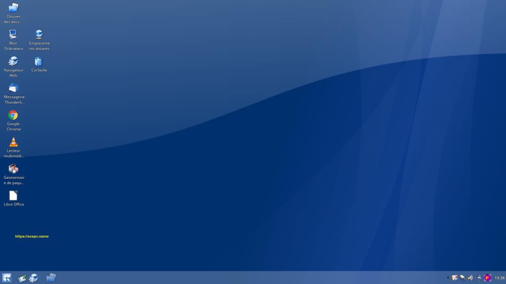 Donner le look Windows XP à la distribution Linux Q4OS