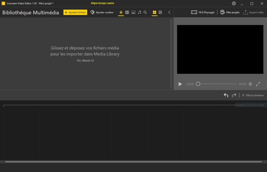 Icecream Video Editor : un logiciel de montage gratuit et facile à utiliser.