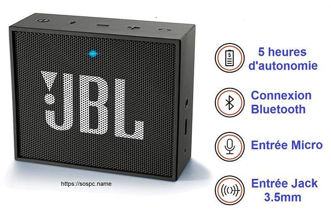 JBL GO la Mini Enceinte Bluetooth portable en test